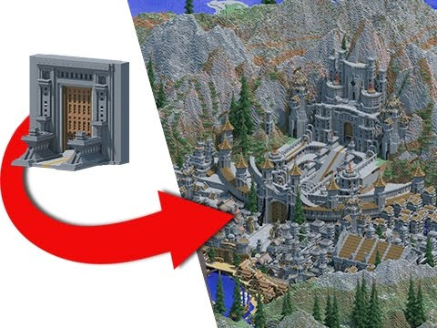 Transforming My First Ever Minecraft Project Epic Build Youtube