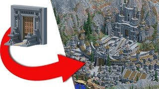 Transforming My First Ever Minecraft Project - EPIC Build!