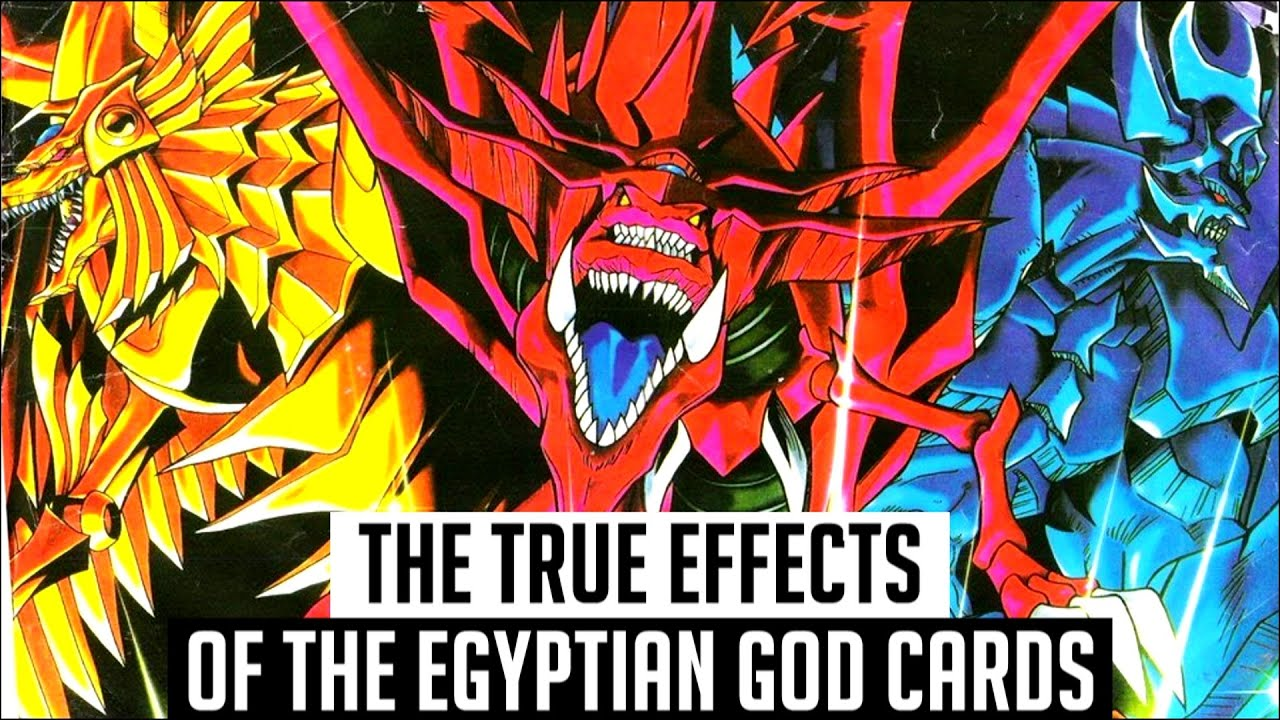 The True Effects Of The Egyptian God Cards