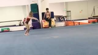 Isabella dawn amazing 7 year old gymnast