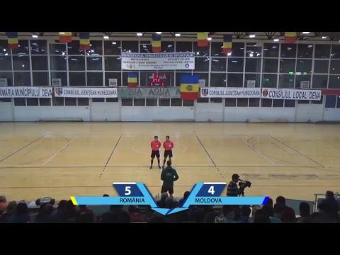 Futsal Live: Romania - Moldova