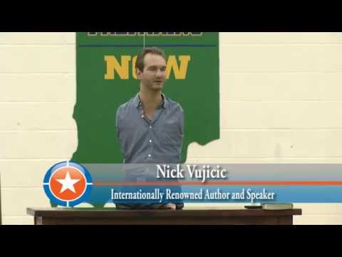 Stand Strong Tour with Nick Vujicic, Cathedral High School, Indianapolis, In