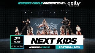 NEXT KIDS | 2nd Place Jr Team | Winners Circle | World of Dance Portugal Qualifier 2019 | #WODPOR19