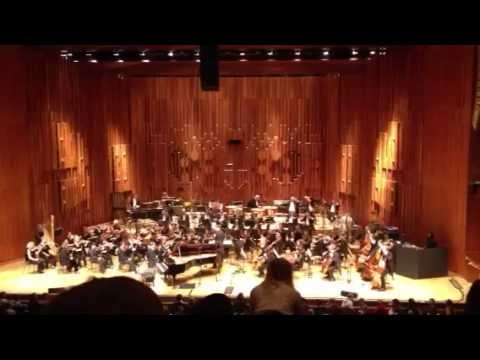 Chilly Gonzales BBC Symphony Orchestra @ Barbican 20-10-2012 Crowd Surfing Finale