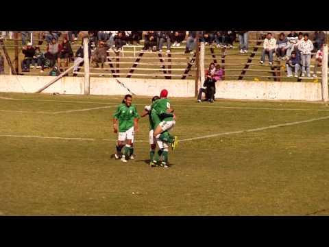 Gol de Hertel, FCTA 3 vs Jorge Newbery de Junín 1.