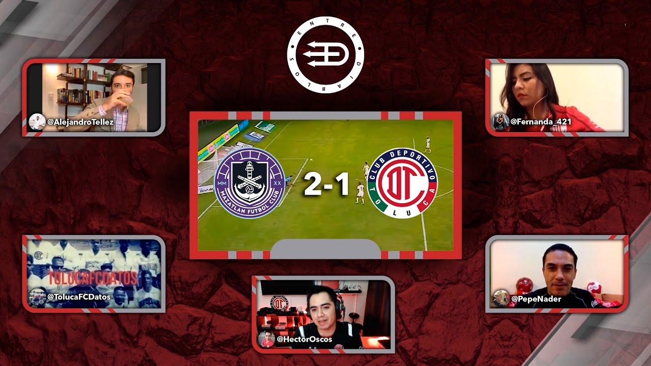 ¡Toluca FC mal y de malas en Mazatlan!