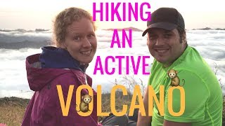🌋 Hiking an Active VOLCANO 🌋 Mt Batur Sunrise Hike in Bali Indonesia