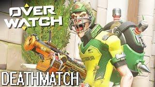 Deathmatch mit Junkrat und Mei! | OVERWATCH