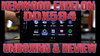 The Kenwood Excelon DDX594 unboxing and review