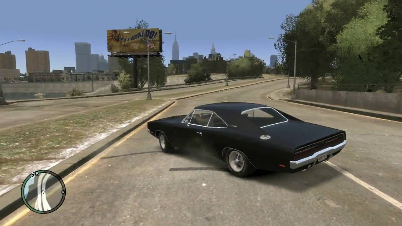 Gta Iv Pc 1969 Dodge Charger Mod Hd Youtube