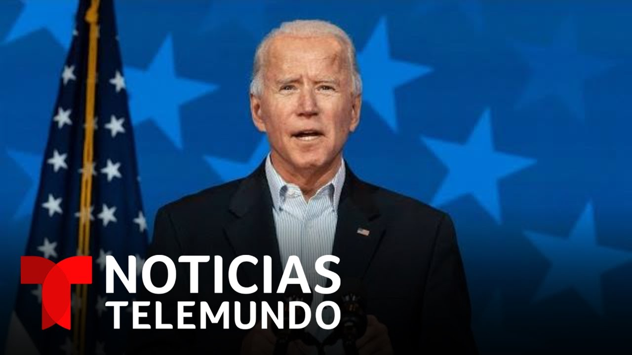 Biden es el presidente electo de Estados Unidos | Noticias Telemundo
