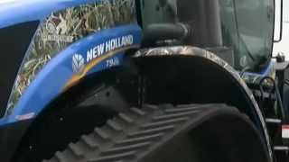 Test Drive New Holland's high-horsepower T9 Series Tractor with Tracks