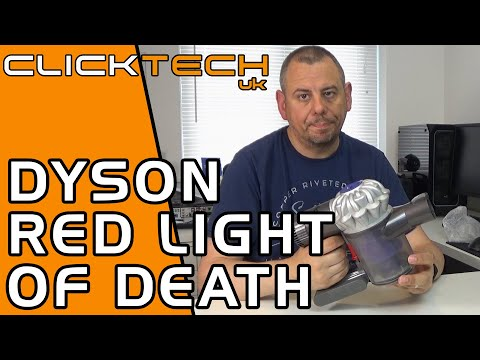 How To Fix Dyson V6 Flashing Red Light - Installing A New Battery Pack