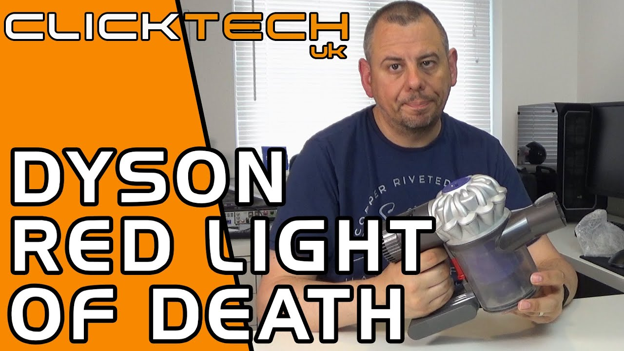 Dyson V6 Flashing Red Light - How to install New Battery Pack
