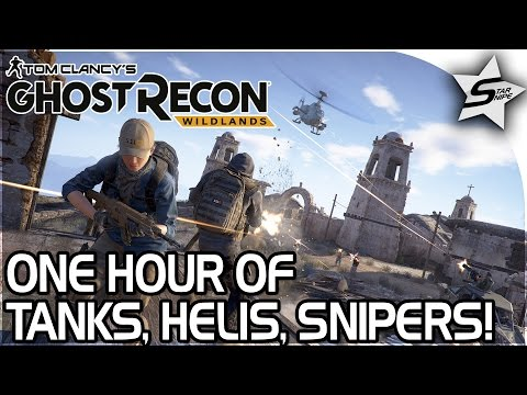 TANKS, HELICOPTERS, STRONGEST SNIPER!! - HOUR OF GHOST RECON WILDLANDS MULTIPLAYER GAMEPLAY w/ Neebs