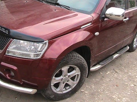 Сузуки Гранд Витара ремонт бампера и кузова Suzuki Grand Vitara