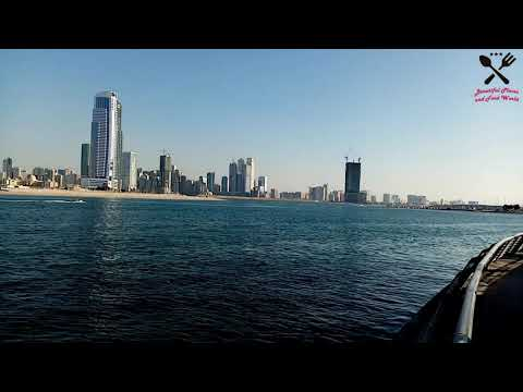 let's see the Beautiful Views of Al Mamzar Park Dubai @Beautiful Places and Food World