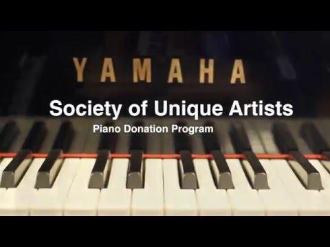 Society of Unique Artists' Piano Donation Program
