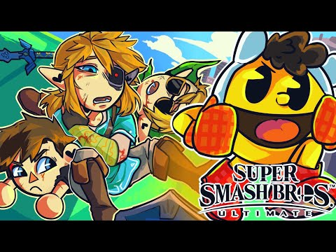 There is no stopping BasicallyIDoWrk in Smash Bros... (Super Smash Bros Ultimate Funny Moments) thumbnail