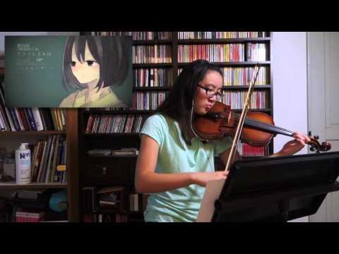 [Vocaloid] Ikanaide/いかないで Violin Cover