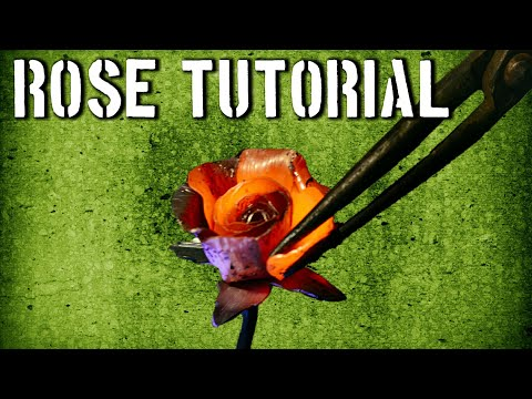 How to Forge a Rose: Step by Step Processes to Forging a Steel Rose