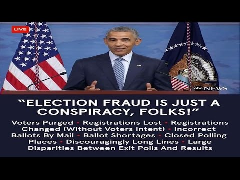 Barack Obama - The King of Rigged Elections (Chicago Style Politics)