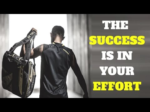 BADMINTON MOTIVATION – The Success Is In Your EFFORT