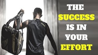 BADMINTON MOTIVATION - The Success Is In Your EFFORT thumbnail