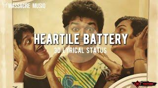 Heartile Battery | Nanban | Thalapathy Vijay | Tamil | 3D Whatsapp status video | Massacre Musiq
