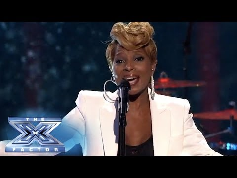 "Finale: Mary J. Blige Performs ""Rudolph, The Red-Nosed Reindeer"" - THE X FACTOR USA 2013"