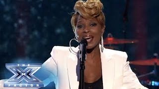 """Finale: Mary J. Blige Performs """"Rudolph, The Red-Nosed Reindeer"""" - THE X FACTOR USA 2013"""