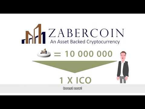 Zabercoin Is An Asset Backed ERC20 Ethereum Token