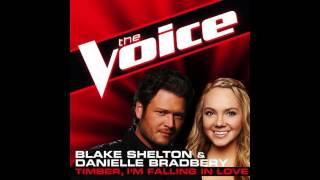 "Danielle Bradbery & Blake Shelton: ""Timber, I'm Falling in Love"" - The Voice (Studio Version)"