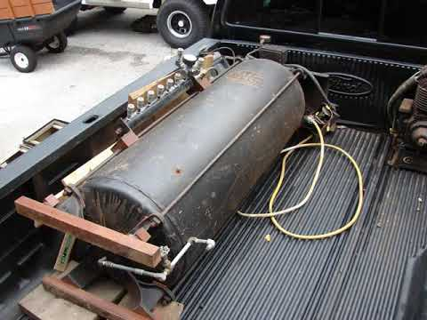 Champion Air Compressor Diagram Honda Stream Ecu Wiring Old 80 Gallon Circa 1937 Youtube