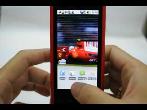 Acer Liquid E Ferrari: Turn off / on data services