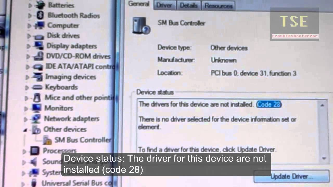 base system device driver hp download