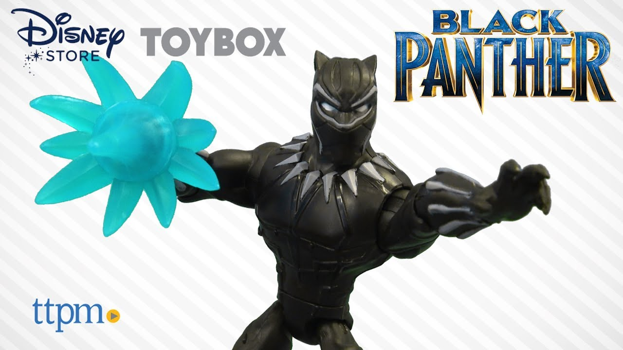 Disney Marvel Toybox Black Panther Action Figure