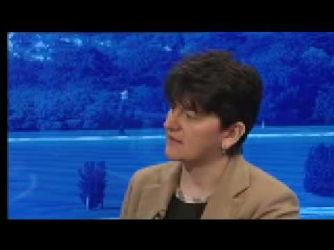 Arlene Foster on NI economy