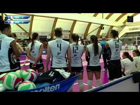Volley A2:F Fenera Chieri 76 Omia Cisterna 23ma giornata 26 3 2016