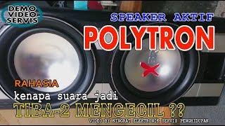Video RAHASIA speaker POLYTRON XBR tiba-2 suara mengecil download MP3, 3GP, MP4, WEBM, AVI, FLV Juli 2018