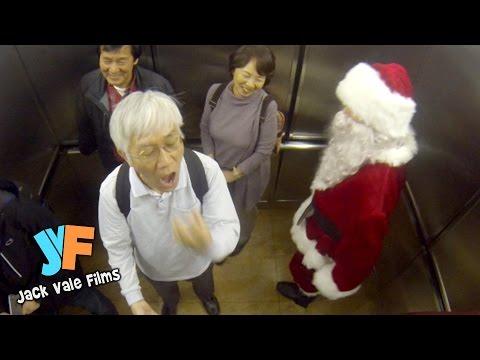 Santa Farting In An Elevator!
