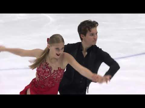 Алисия Фабри/Пол Эйер (Канада)   ISU Гран При (юниоры) 2018   Ритм танец (танцы на льду)