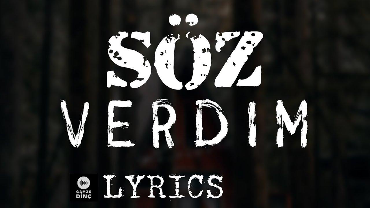 Bilal Sonses - Söz Verdim (Lyrics-Sözleri)