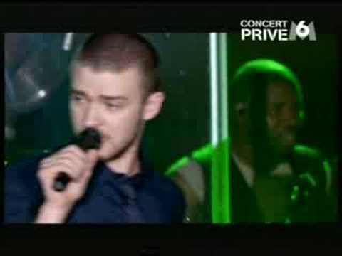 Justin Timberlake Live In Paris 07 -Rock Your Body