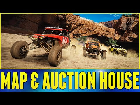 Forza Horizon 3 Gameplay : MAP INFO & AUCTION HOUSE!!! (Q&A w/ Developers Part 2)