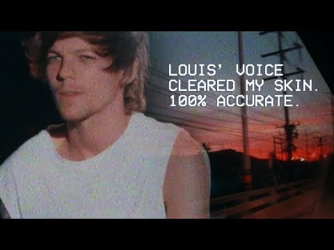 Bad day? Louis' voice can help | Look After You (Louis Tomlinson 3D AUDIO)