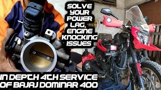 Solve Your Engine Knocking Problems on Bajaj Dominar 400 | 4th Service Cost of Dominar 400