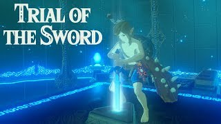 THIS IS STRESSFUL:  Zelda BotW Trial of the Sword