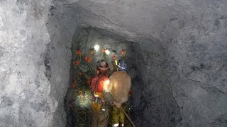 HARD ROCK GOLD MINING !!!! Getting Gold From Rocks. ask Jeff Williams