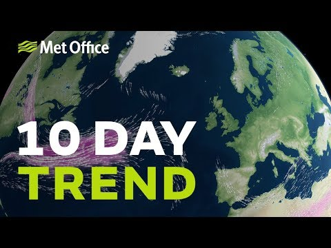 10 Day trend – cold winds, but for how long? 10/04/19